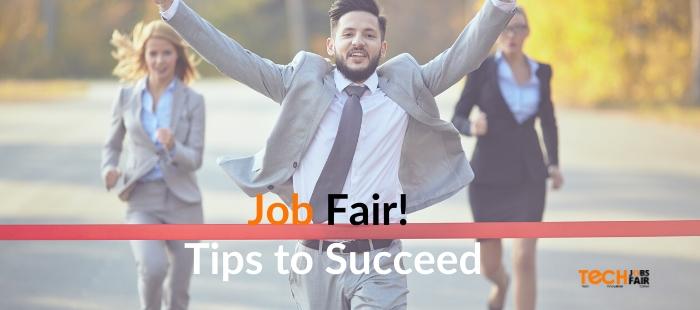 Tips to Succeed at a Job Fair