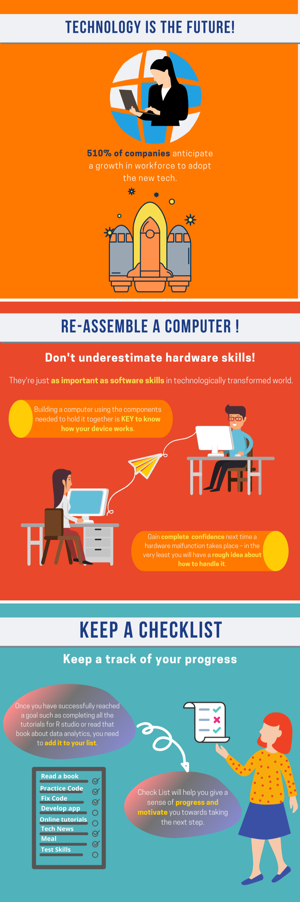10 Ways to Improve Your Tech Skills at Home