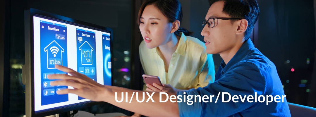 UI/UX Designer/Developer