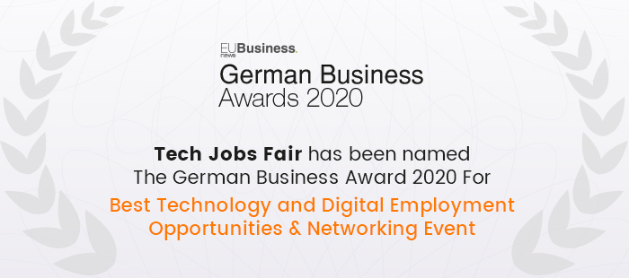 Exciting News! TJF has been named the German Business Award 2020
