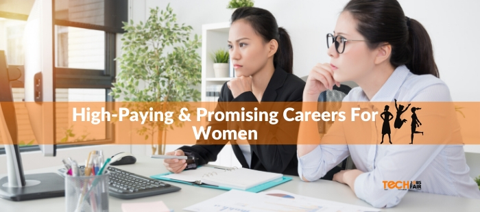 2020's High-Paying & Promising Careers For Women