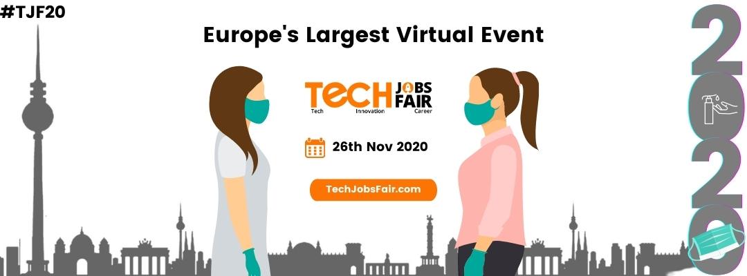 Europe's Largest Virtual Jobs fair
