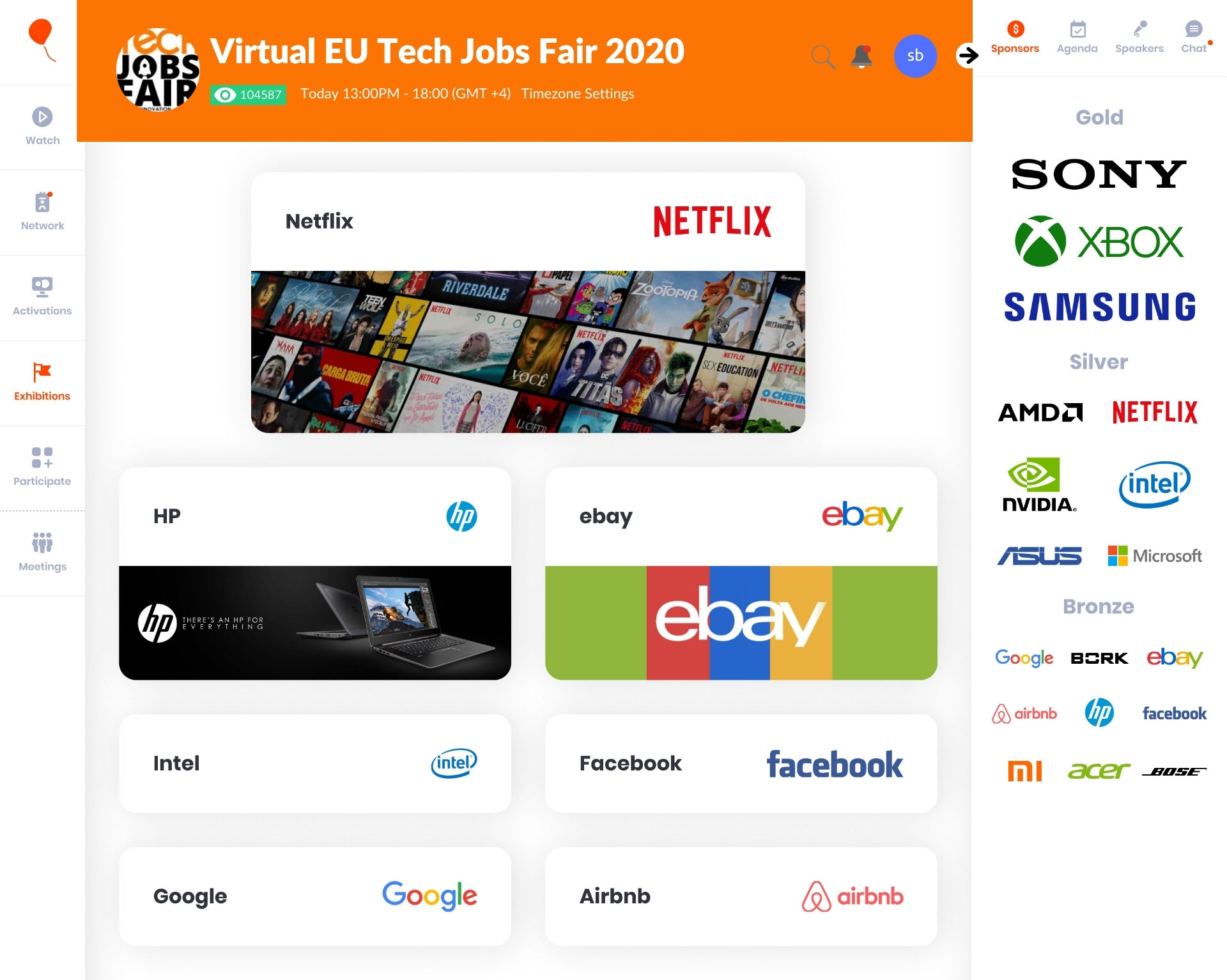 Virtual Expo at Virtual TJF 2020