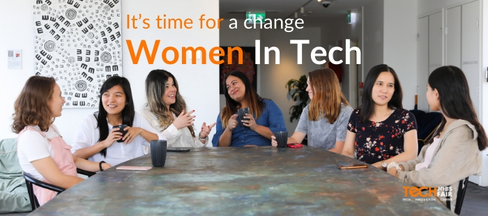 It's time for a change: we need more women in tech.
