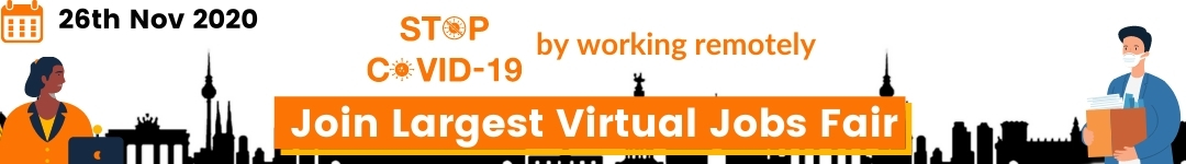 Join Europe's Largest Virtual Tech Jobs Fair