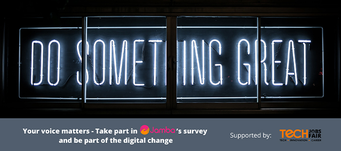 Innovation and Technology – Take part in Jamba's survey and be part of the digital change