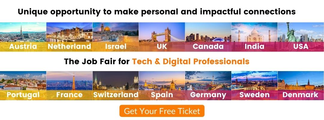 Austria's Largest Virtual Recruiting & Branding Virtual Tech Jobs Fair