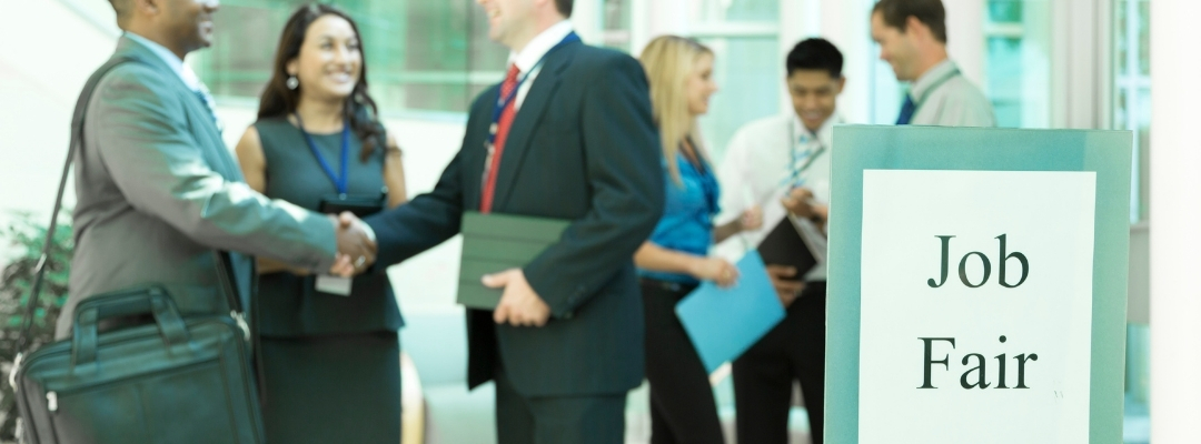 introduce yourself at a job fair